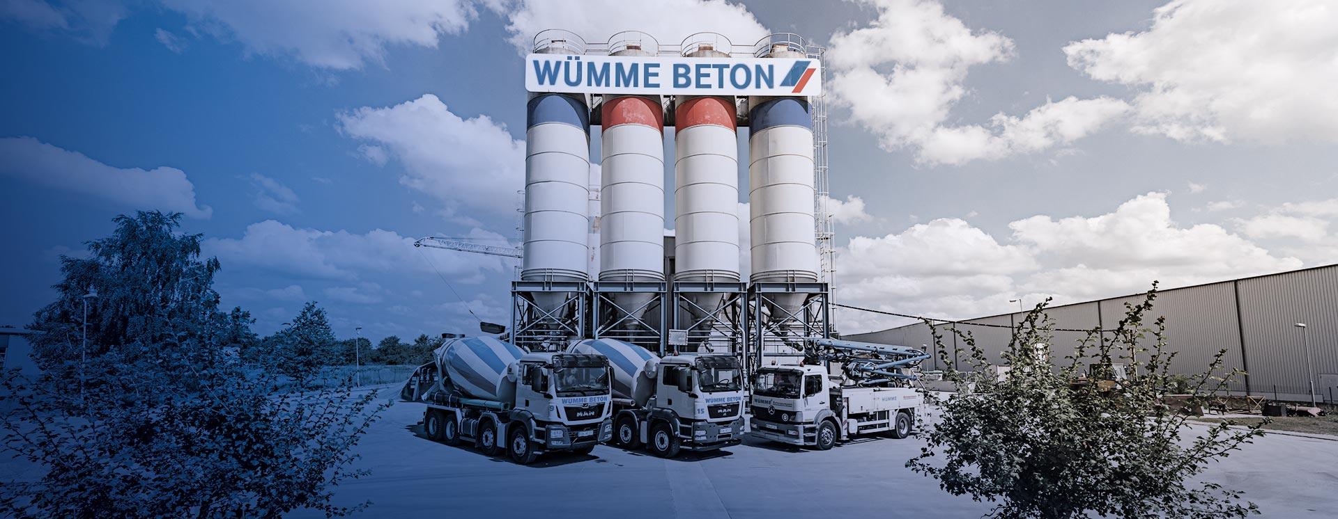 Geliebte Wümme Beton | Hersteller für Transportbeton und Betonpumpen @BA_81